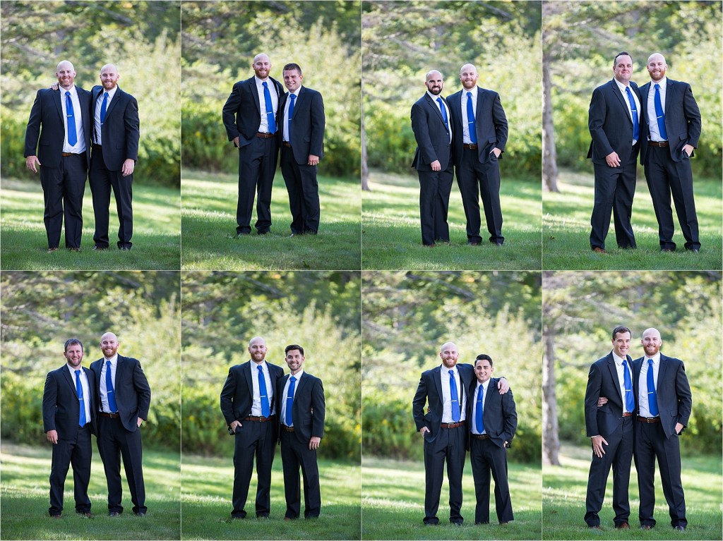 Maine Wedding Photography Groomsmen