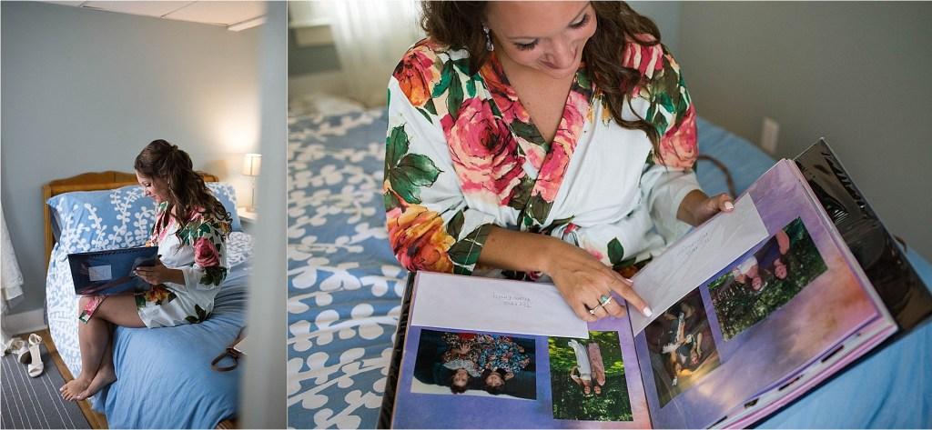 Bridesmaids Gift to Bride Maine Wedding