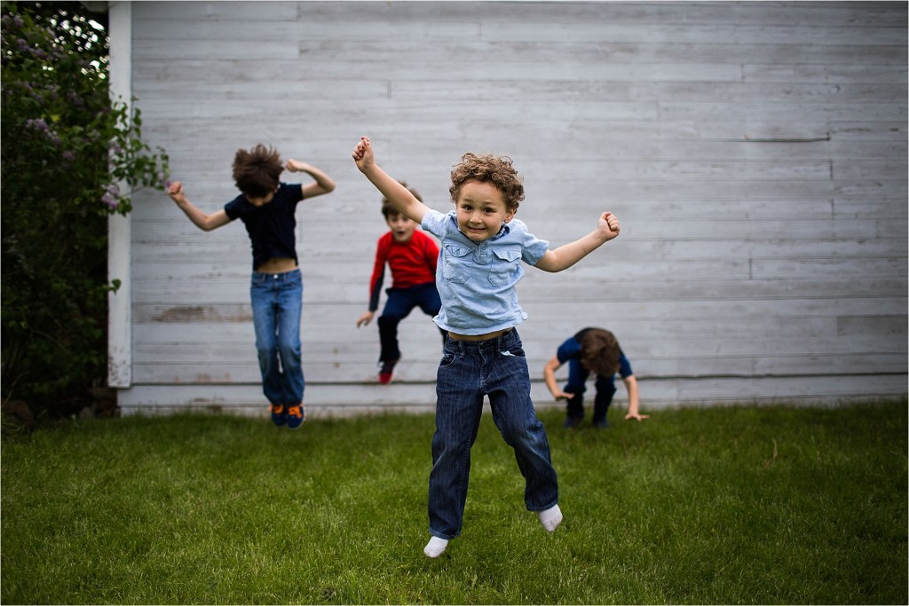 Boy jumping York Maine Family Photographer Vacationland Summertime