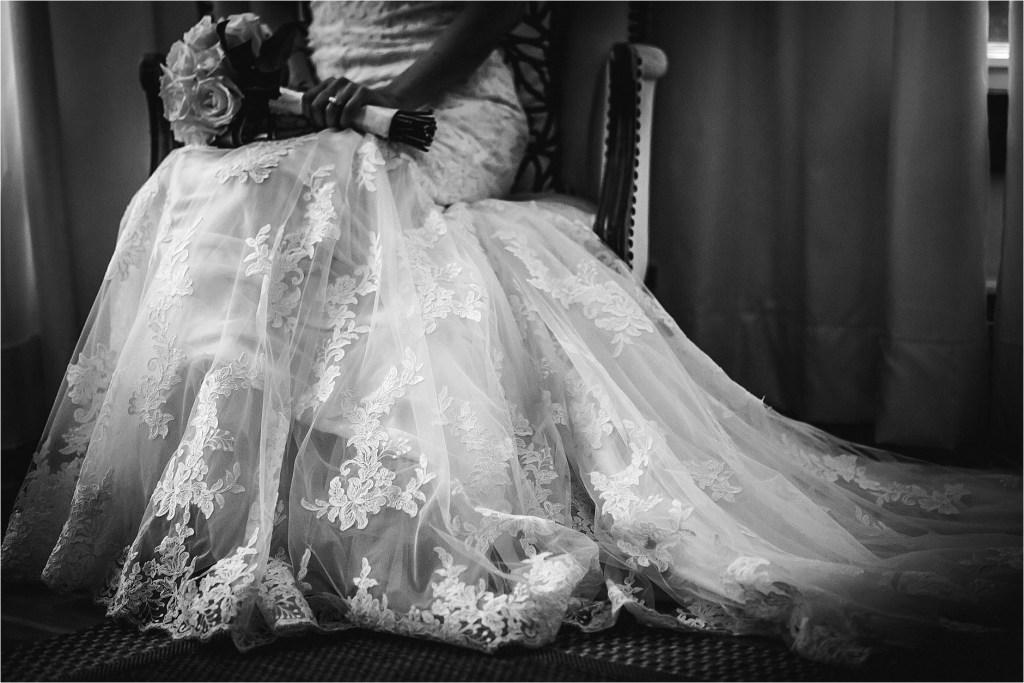 Allure Wedding Dress Maine Wedding Photographer Lakeside Wedding