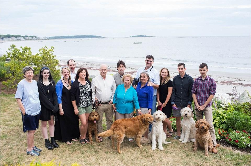 "Goose Rocks Beach Family Session | The ""O"" Family"