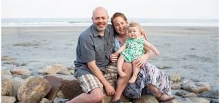 Family Portrait on Long Sands Beach