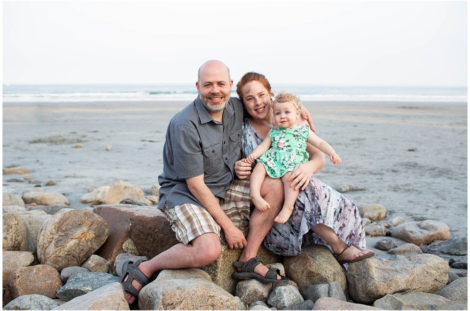 Long Sands Beach Portrait Session | Maine Family Photographer