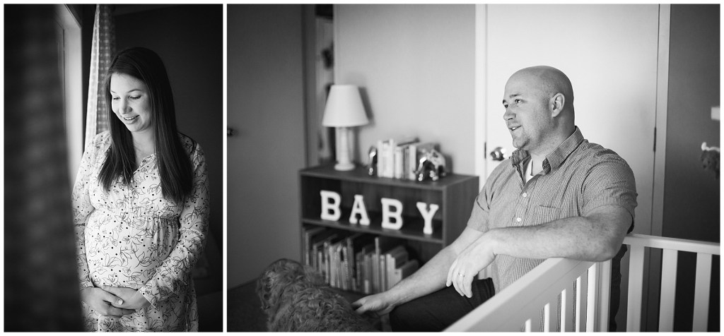 Wells Maine Maternity Session at home