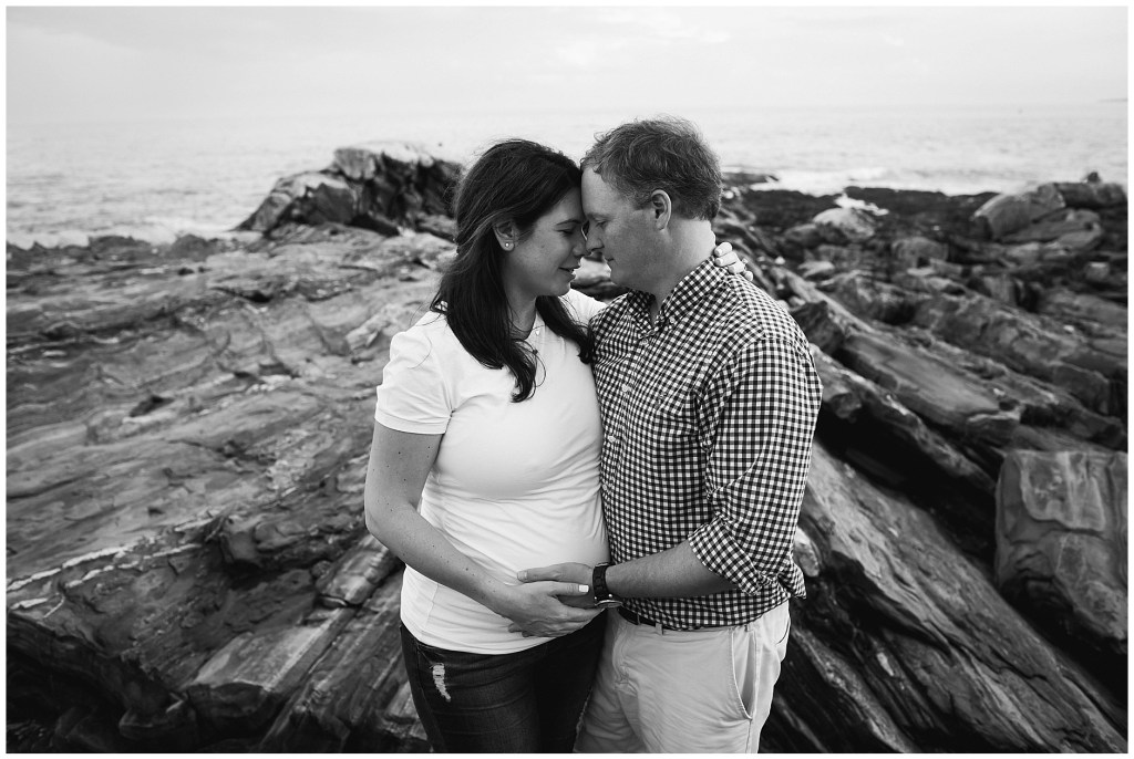 Pemaquid Point Maternity Photo