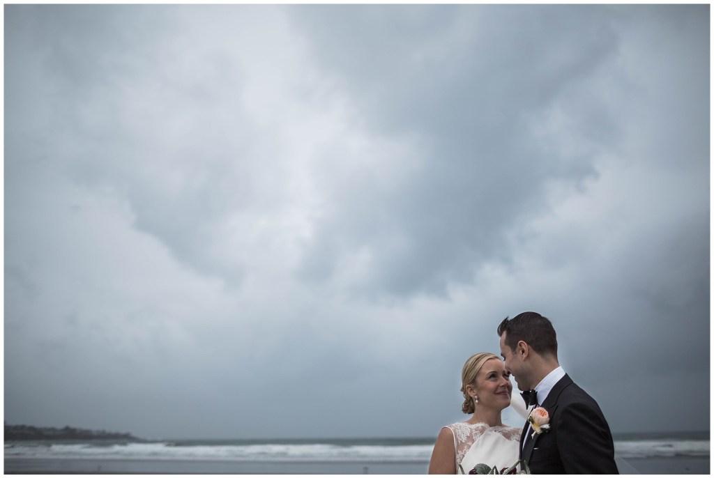 York maine Wedding Couple
