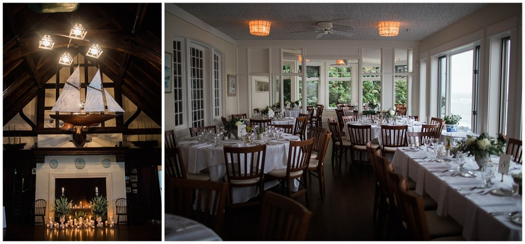 Maine Wedding at York Harbor Inn Reading Room