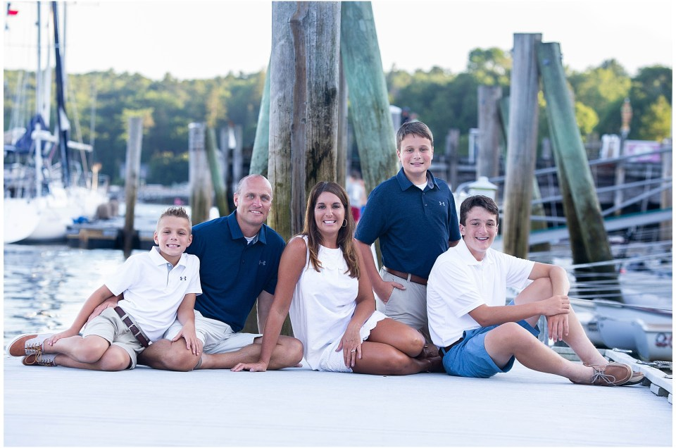 Rockport Maine Family Photo Session | The B Family