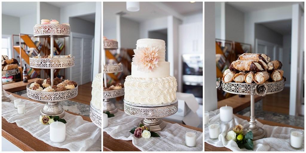 Nothing Bakes Like a Parrott York Maine Wedding Cake