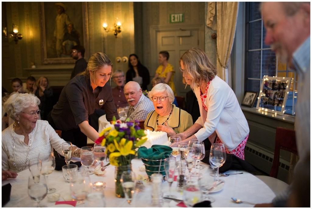 Happy 90th Birthday party Portland Maine