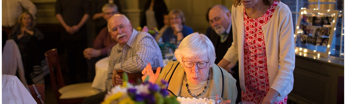 A 90th Birthday Celebration | The Cumberland Club in Portland
