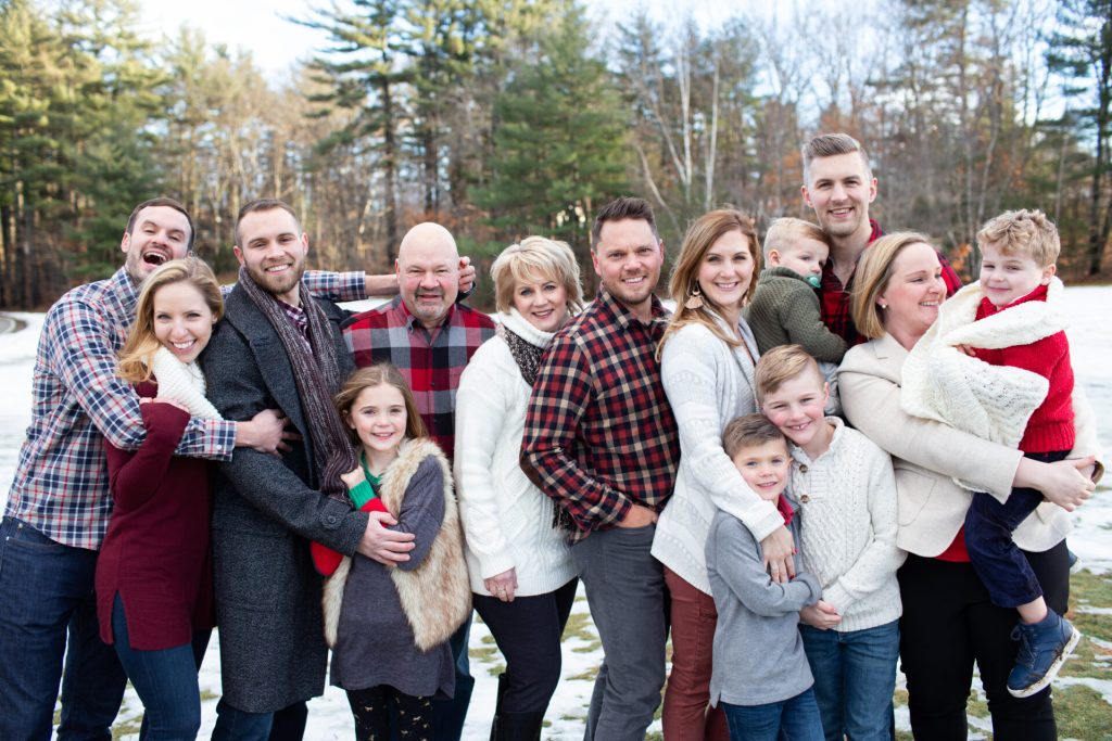 Winter Family Portrait Session