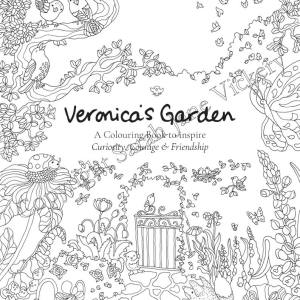 Veronica's Garden Colouring Book FREE Cover to colour