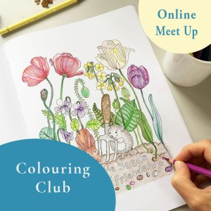 Colouring Club with sArah Jane Vickery Online