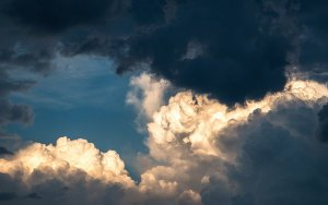 clouds, sky, weather