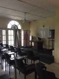 Sri Lanka Acu college classroom