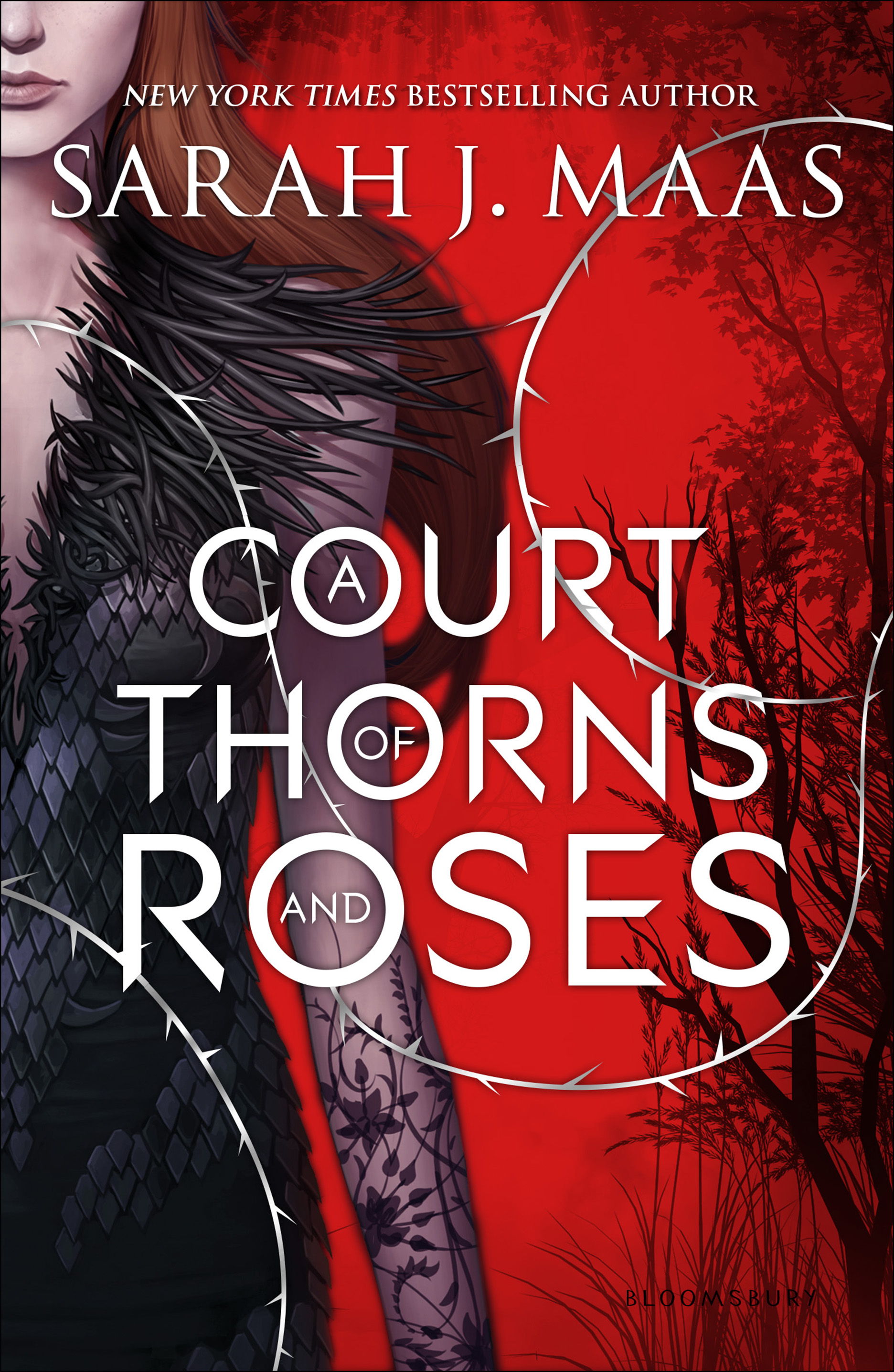 Image result for a court of thorns and roses cover