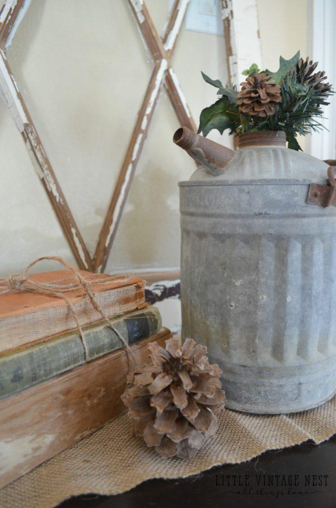 Simple Winter Decorating Tips & Tricks Farmhouse Decor from Little Vintage Nest