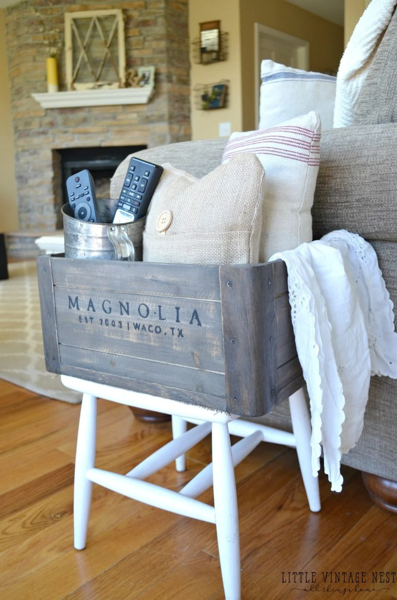 5 Ways to Style a Wooden Living Room Farmhouse Cubby
