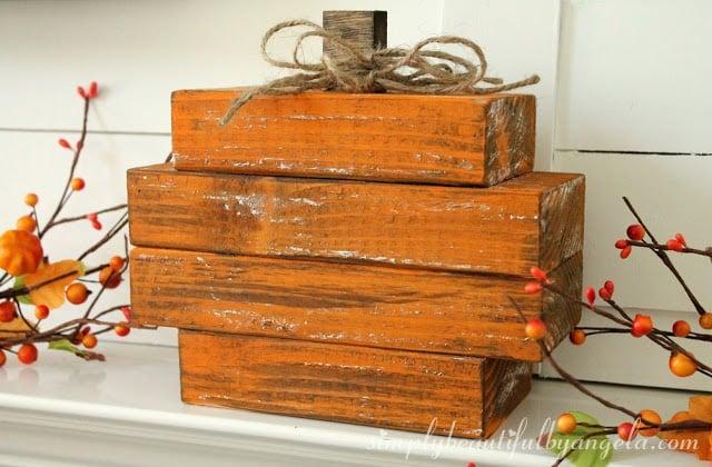 Scrap Wood Pumpkin (10)