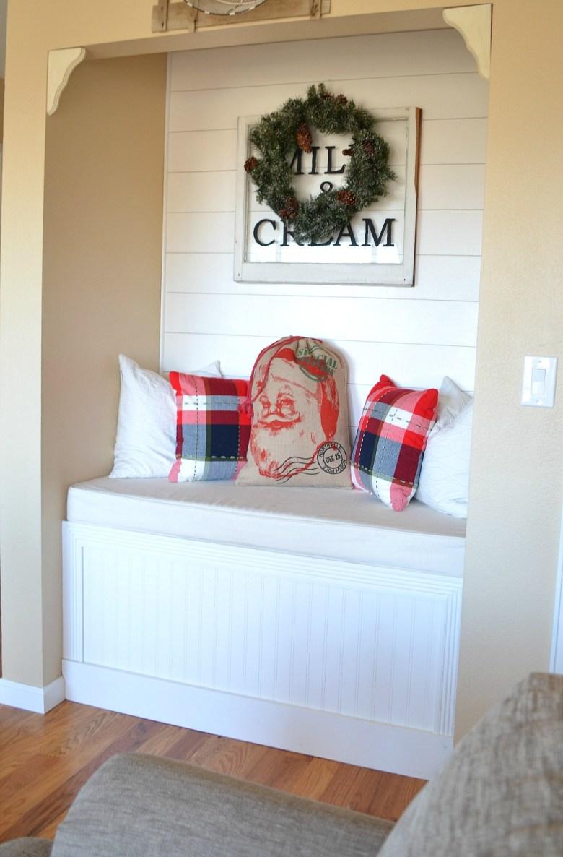 The Easiest DIY Christmas Pillow Ever