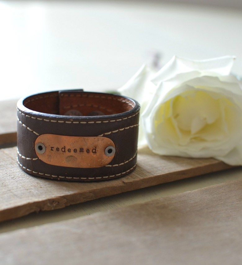 Friday Favorite: Vintage Inspired Leather Cuffs