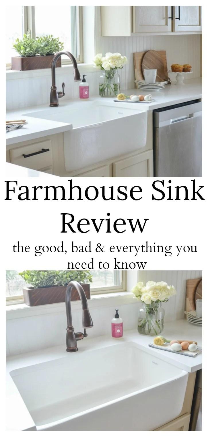 farmhouse sink review