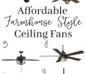 Farmhouse Decor 10 Farmhouse Style Ceiling Fans Sarah Joy Blog