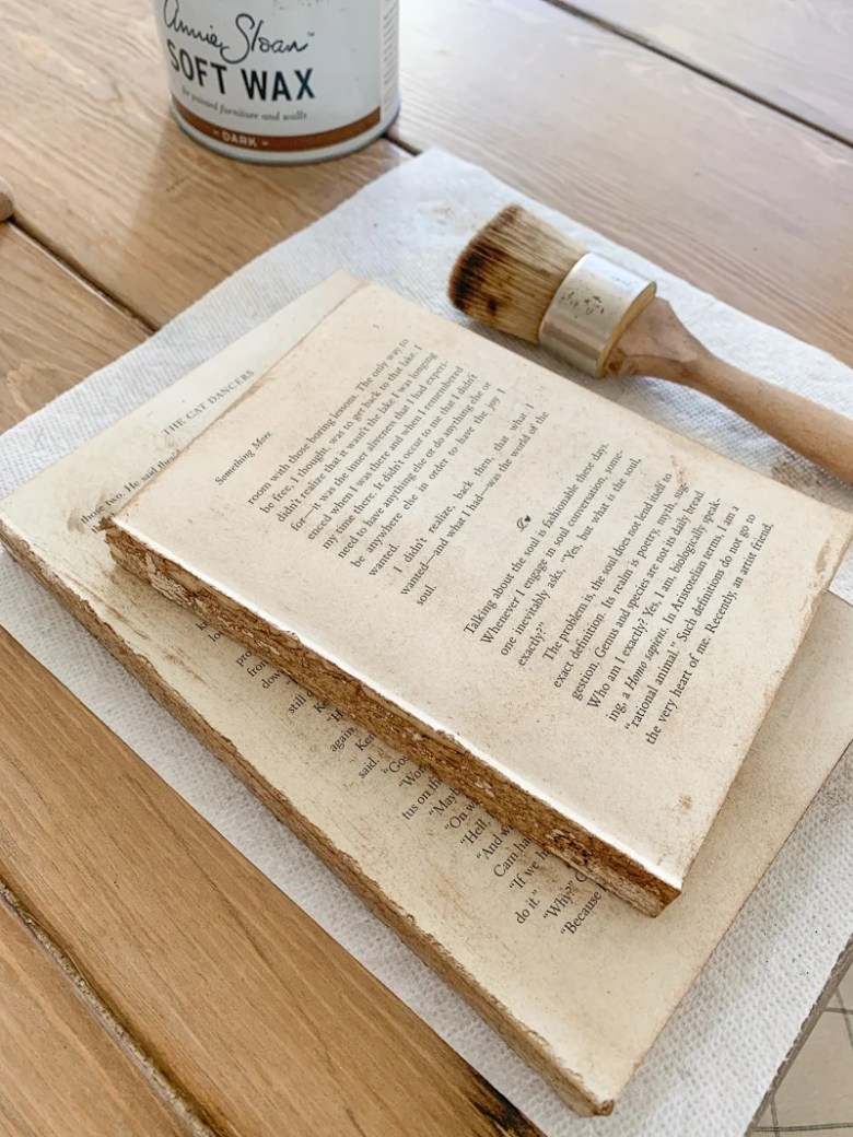 "DIY ""Antique"" Books in Five Minutes"