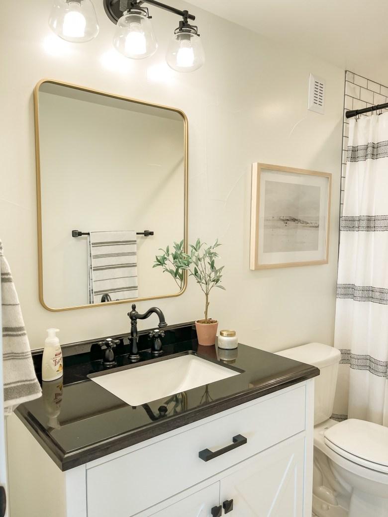 Modern Cottage Bathroom--Details I Love!