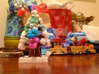 Had an awesome Christmas, with an awesome magic crystal Christmas tree.