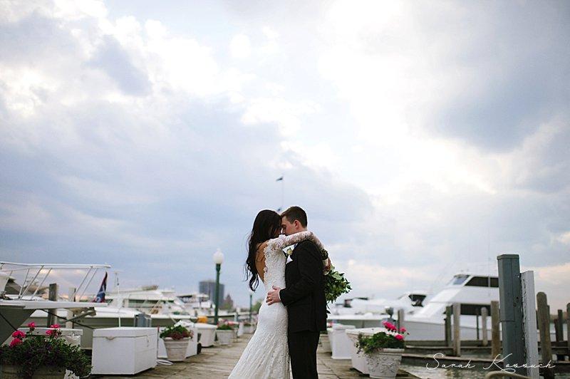 Detroit Yacht Club Belle Isle Spring WeddingArtistic Metro