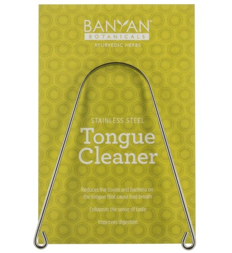 Banyan Botanicals Ayurvedic Tongue Cleaner Scraper