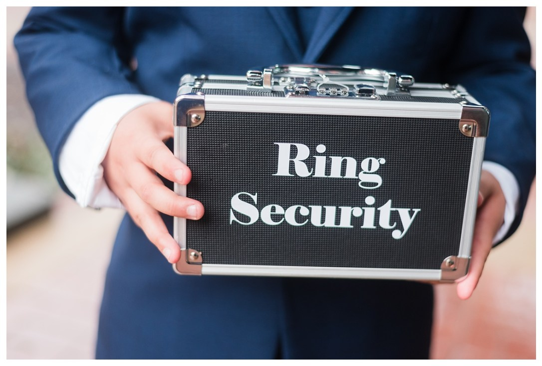 ring security box for ring bearer