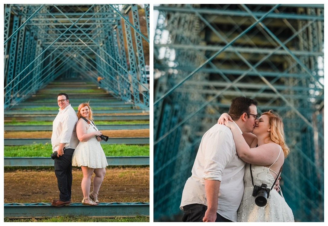 walnut street bridge engagement