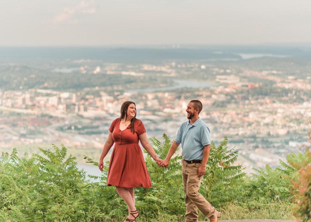 Point Park Engagement Photos
