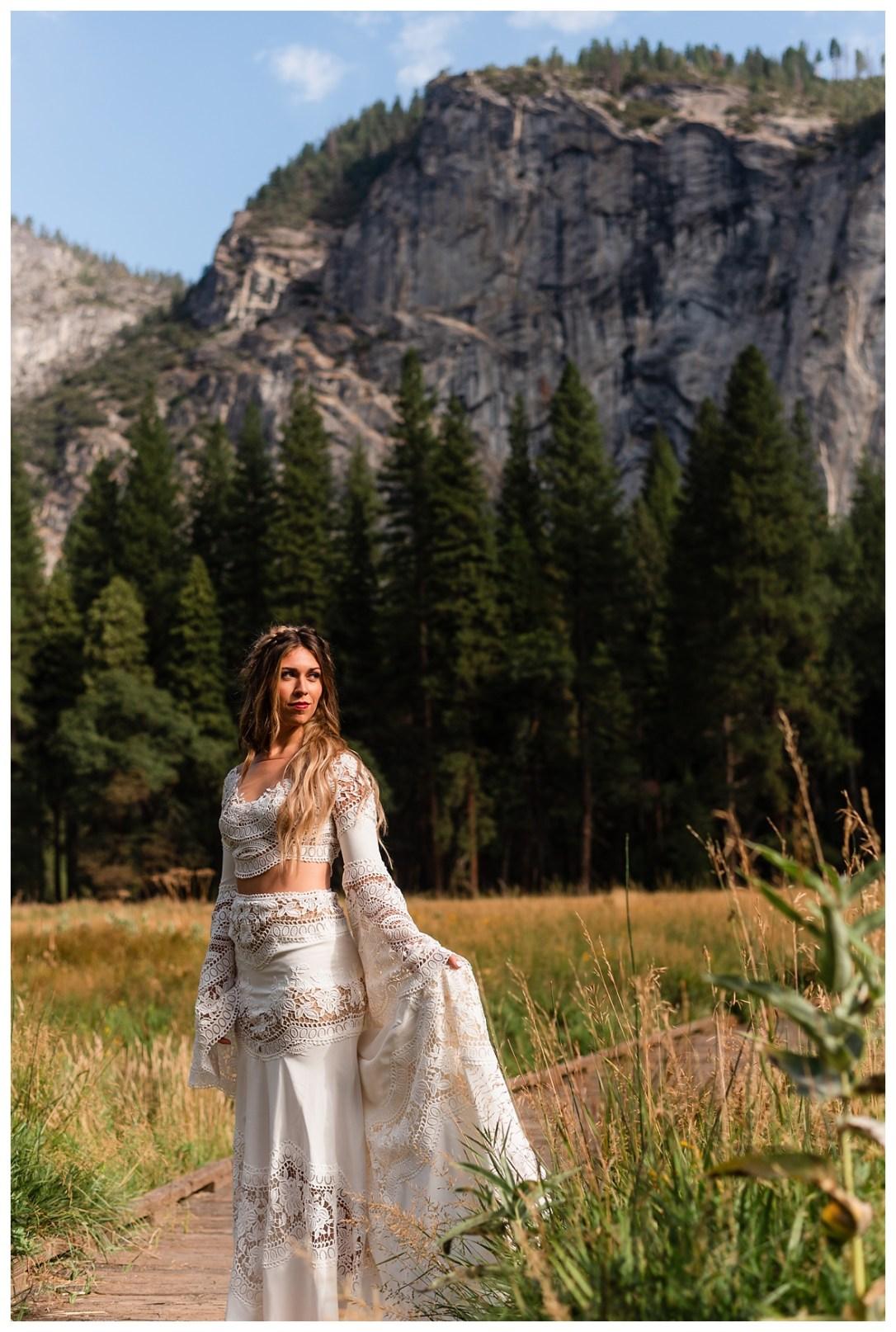 Yosemite Valley Bride