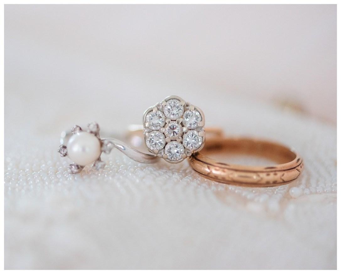 Grandparents wedding rings