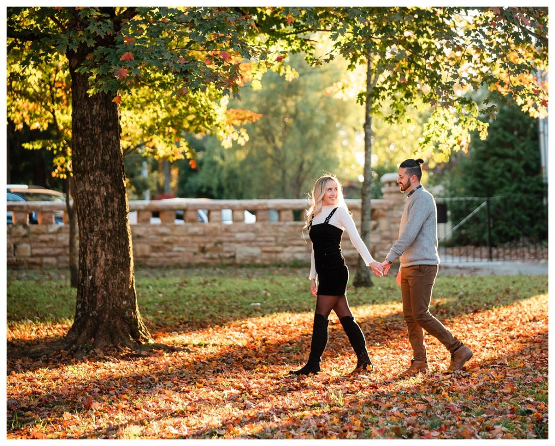 engagement photos in point park