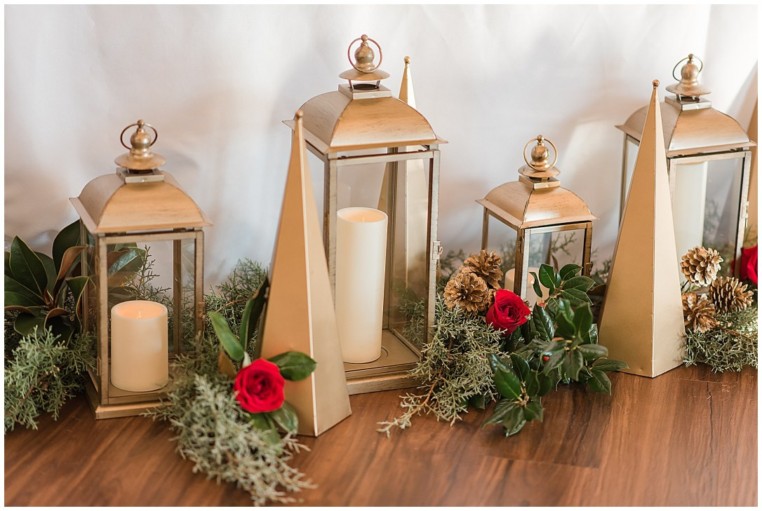 Christmas Wedding decor ideas