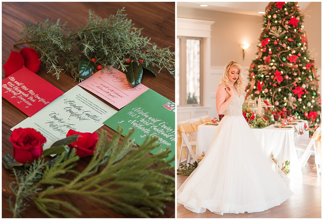Ideas for a wedding at Christmas time