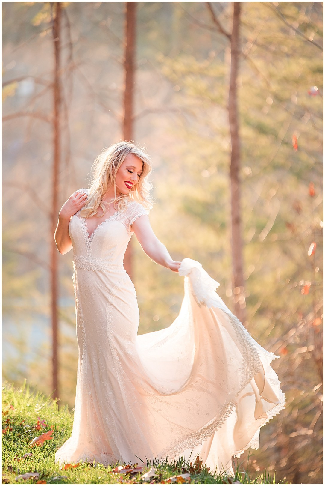 Forrest bridal portraits