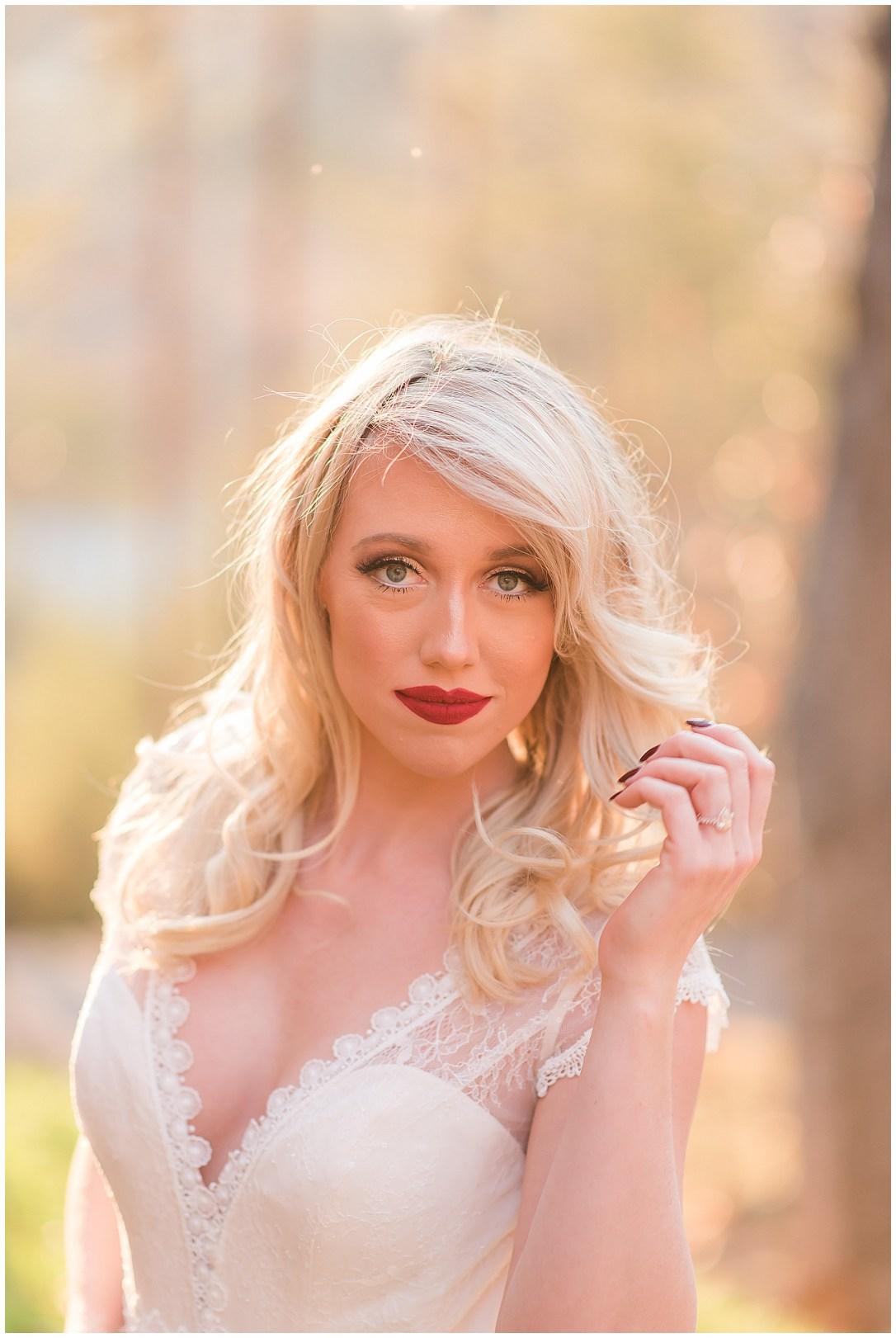bright bridal portraits