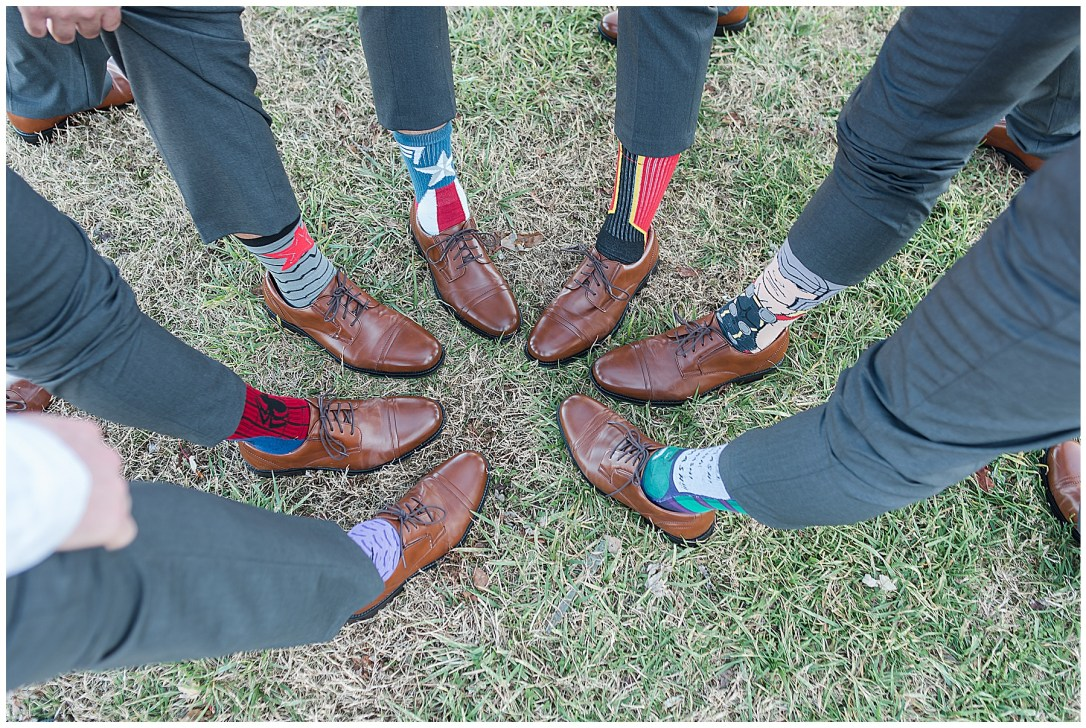 groom's fun socks