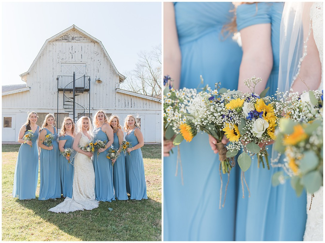 White Farmhouse wedding