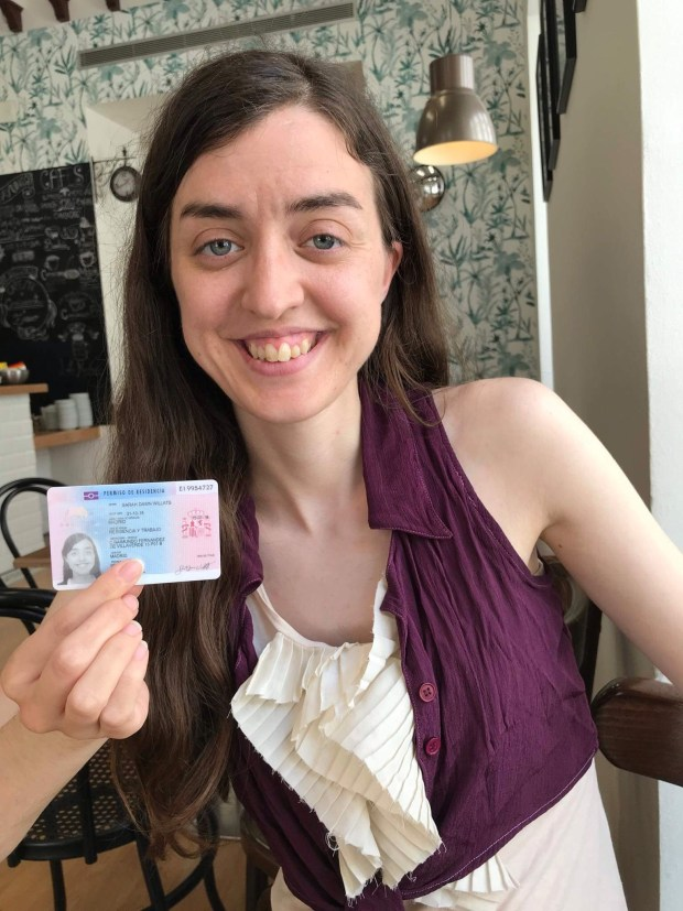 Student visa card to residency card - at last!