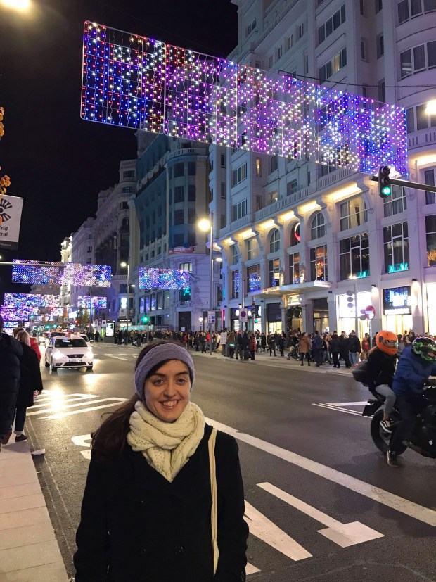 Living in Spain: Christmastime in Madrid centro