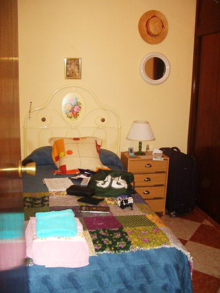 The room I had in my host family's apartment in Spain 2010, when I was a study abroad student.
