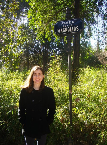 Paseo de los Magnolios which is situated inside Parque María Luisa in Sevilla.
