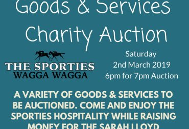 Goods and Services Charity Auction